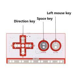 Para makey prático inovar durável criança presente makey kit de placa de controle principal com cabo usb
