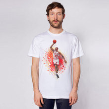 Basketball star dunk T Shirt Men's Funny Casuals Short Sleeve Hipster Tees Men Women