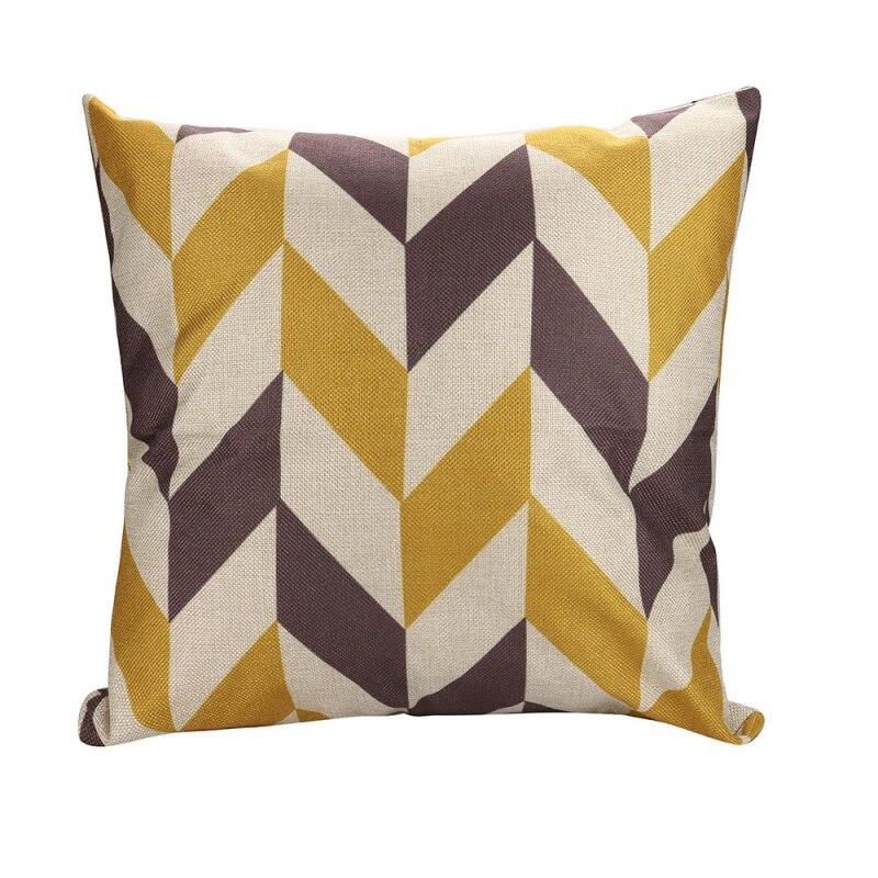 YOMI Z 2018 Fashion Cushion Covers 45*45cm Pillow Coussin De Salon Sofa Pattern Pillowcase Nordic Decorative Kussenhoes