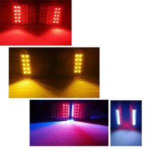 Image 5 - 1 Pair AOHEWEI 12v 26 leds trailer light high brightness License Plate Trailer light  Truck lamp Tail  Light  number plate light