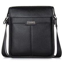 Hot Famous Brand Men Bag Briefcase High Quality First Layer Cowhide Leather Business Men Messenger Shoulder Bag Men's Travel Bag