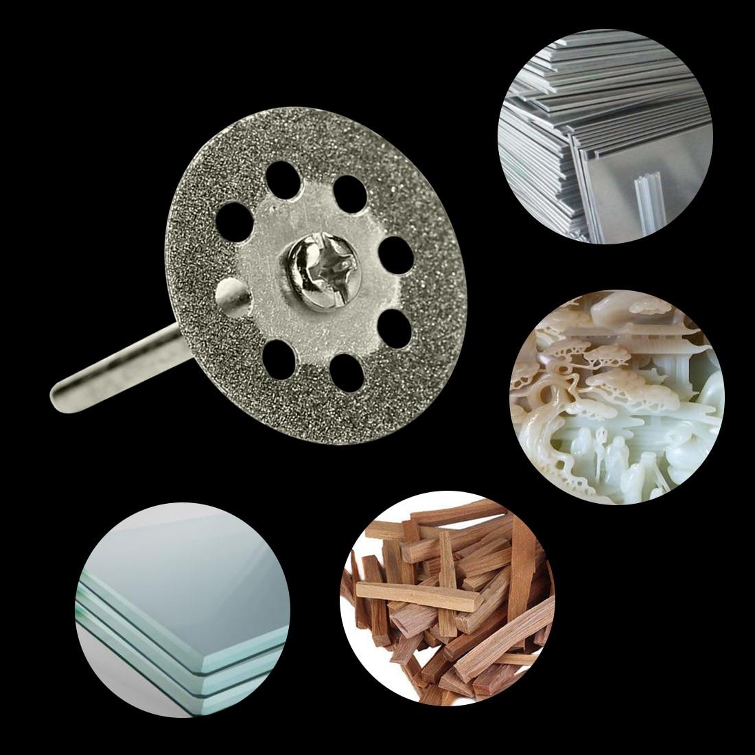 Diamond Grinding Wheel Saw Circular Cutting Disc Dremel Rotary Tool  5pcs 22mm Diamond Discs Dremel Accessories