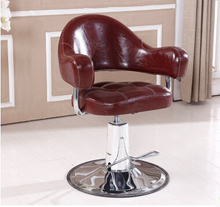 Upscale hairdressing chair adjustable pedal barber chair special hair salon chair lift  цена и фото
