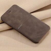 X Level Luxury Cowboy Ultra Thin Nostalgia PU Leather Flip Phone Case For Iphone 6 6s