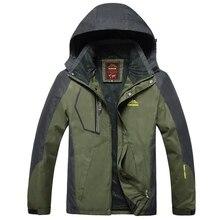Ceket erkekler su geçirmez Windproof Hood nefes ceketler erkek ilkbahar sonbahar rüzgarlık palto artı boyutu 7XL 8XL 9XL dış giyim
