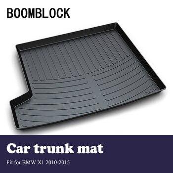 BOOMBLOCK Car Interior Accessories Non-slip Dustproof Trunk Special Floor Foot Mat For BMW X1 E84 2015 2014 2013 2012-2010
