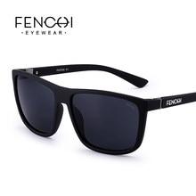 FENCHI – lunettes de soleil carrées pour hommes et femmes, de haute qualité, rétro, à la mode, pour la conduite