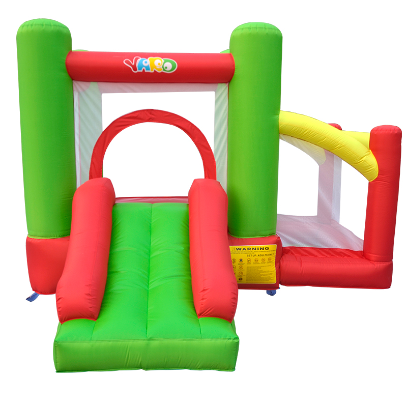 Inflatable Jumping Castle For Kids With Slide Trampoline And Ball Pool Residential Bounce House Inflatable Game 6 5ft diameter inflatable beach ball helium balloon for advertisement