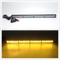 09015 24 LED High Power Strobe Light Fireman Flashing Emergency Warning Fire Flash Car Truck Yellow White Blue Amber Red