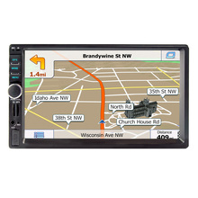 8701 7 inch touch screen multifunctional player Vehicle GPS Units  Equipment, Bluetooth hands-free, FM radio MP3/MP4 Players
