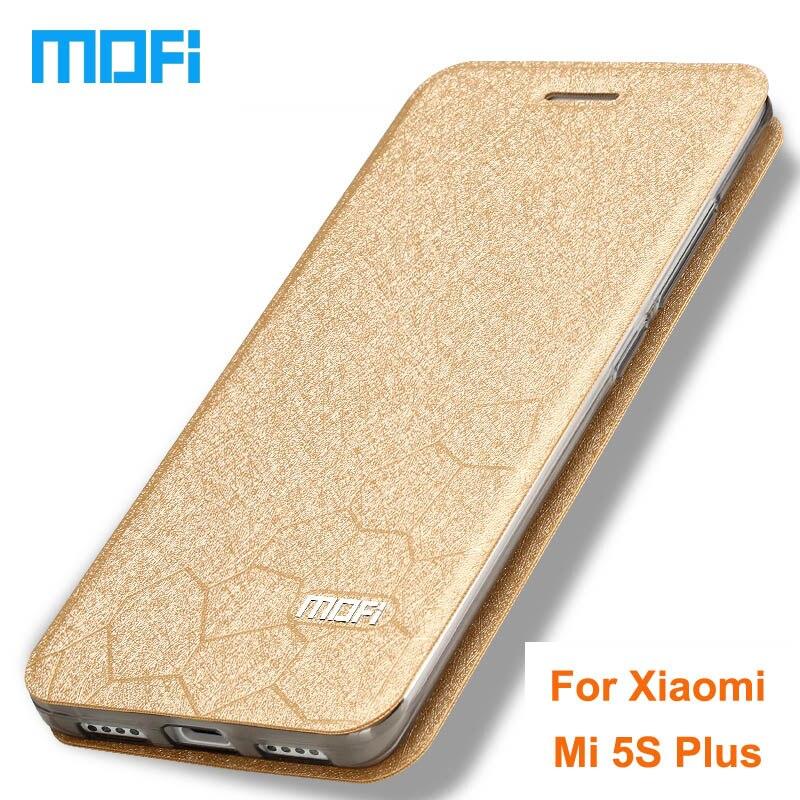 imágenes para Caso Original de la Marca Mofi xiaomi xiaomi mi5 mi5s s mi5s más caso Flip cubierta de cuero + TPU caso suave Para xiaomi mi 5S mi5s caso