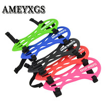 1Pc Archery Soft Rubber Arm Guard Forearm Safety Protective Gears Flexible Guards For Outdoor Hunting Shooting Accessories