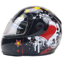 GSB toddler motorcycle helmet ABS shell kids helmet size for 48-54cm head