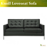 U BEST U BEST High Quality Modern Classic Contemporary Reproduction Retro Furniture Florence Knoll Loveseat Knoll