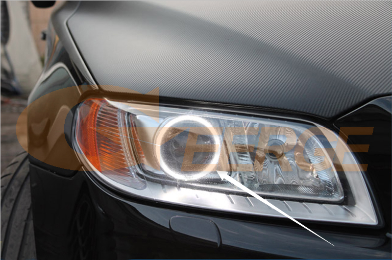 Ccfl Angel Eyes Volvo V70 2008 2009 2010 2017 Xenon Headlight