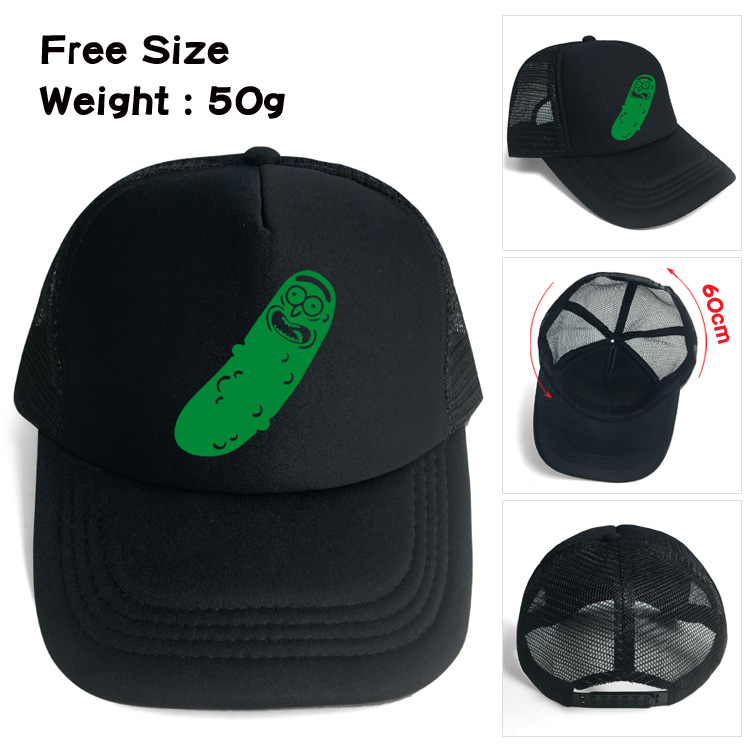 Rick and morty Pickle Rick baseball hat Snapback adjusted mesh cap sunhat  Hip Hop Hat For adult Men Women-in Boys Costume Accessories from Novelty    Special ... 9c1779aecde4