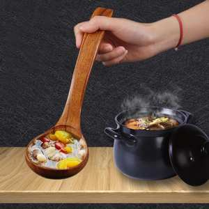 Spoon Soup Cooking Utensil-Tool Kicthen Wooden for Catering-Top