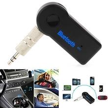 цена на 3.5MM Jack Bluetooth AUX Audio Music Receiver Car Kit Wireless Speaker Headphone Adapter Hands Free For Xiaomi iPhone