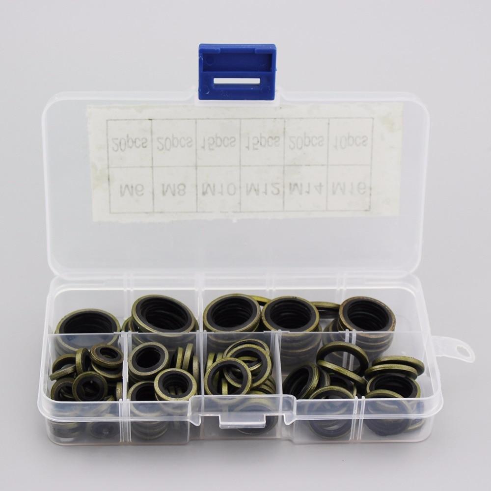 PCP Airfore M6 M8 M10 M12 M14 M16 O-Ring High Pressure Gasket Washer Air Seal Sealing For Mini Gauge Coupler Socket 100PCS/BOX