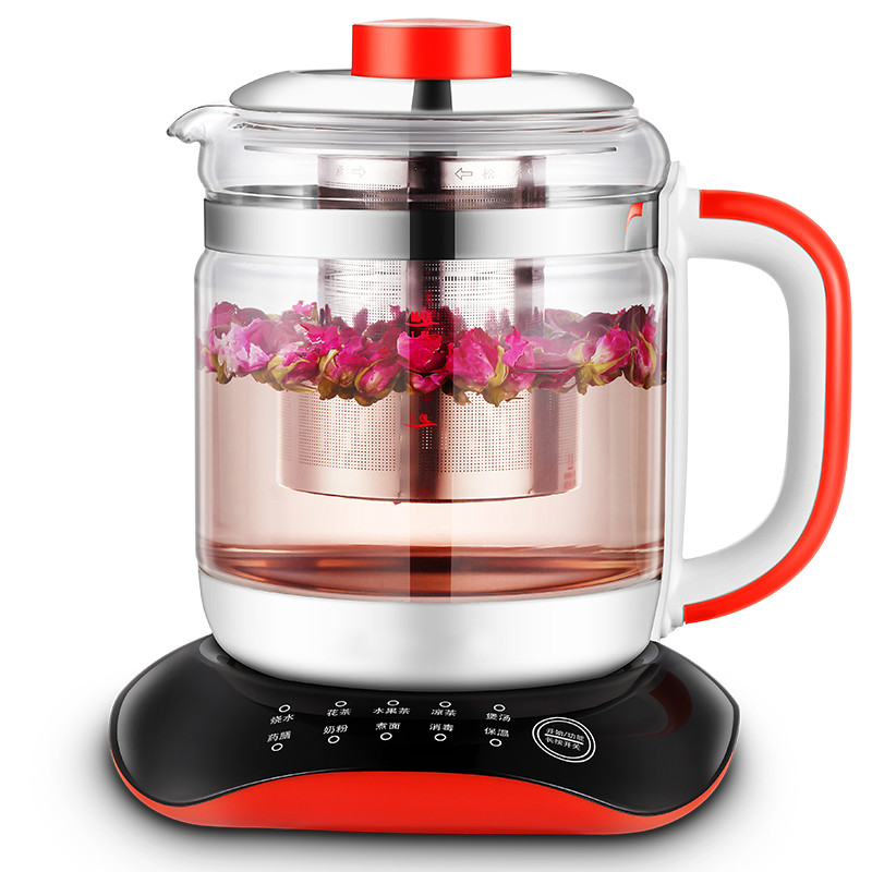 цена на Electric kettle Multi-functional health care flower tea add thick glass pot
