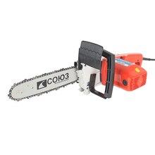 Пила цепная электрическая СОЮЗ ПЦС-9922 (Мощность 2200 Вт, длина шины 30.5 см, шаг цепи 3/8 дюйма, толщина звена 1.3 мм, автоматическая смазка цепи)