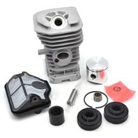 40mm Cylinder Piston Ring Needle Bearing Air Filter Manifold Oil Seal Kit For HUSQVARNA 41 141
