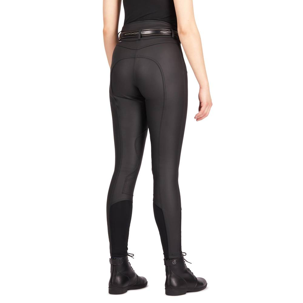 Image 5 - Women Horse Riding Pants Equestrian Breeches Sports Legging Ladies Knee Patch Jodphurs Riding Pant-in Breeches from Sports & Entertainment