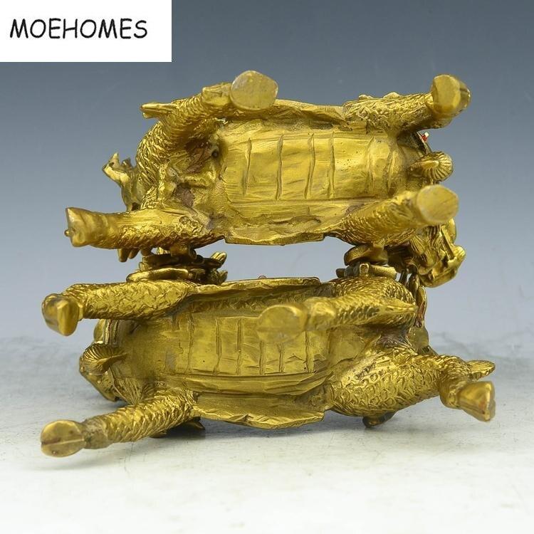 Китайський бронзовий латунь Феншуй - Домашній декор - фото 4