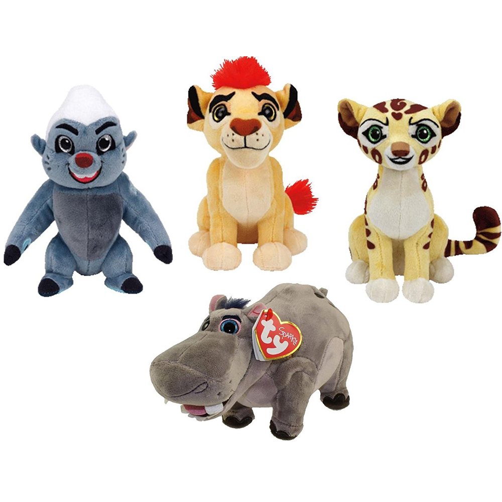 60837aebf1e Pyoopeo Ty Beanie Babies Lion Guard Set of 4 Kion Fuli Bunga   Beshte Plush  Regular