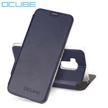 Ocube for Bluboo S8 Leather Case Wallet High Quality Ultra Slim Fashion Flip Leather phone Cover for Bluboo S8 Smart Phone