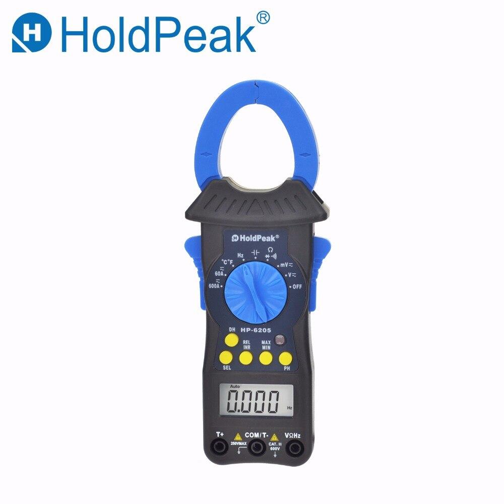 HoldPeak hp-6205 мультиметр DC/переменного тока Напряжение Сопротивление Емкость Температура частоты