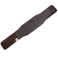 POP RELAX Electric Heating Tourmaline Belt Stone Mat Back Neck Far Waist Infrared thermal Therapy Mattress Cervical Massager