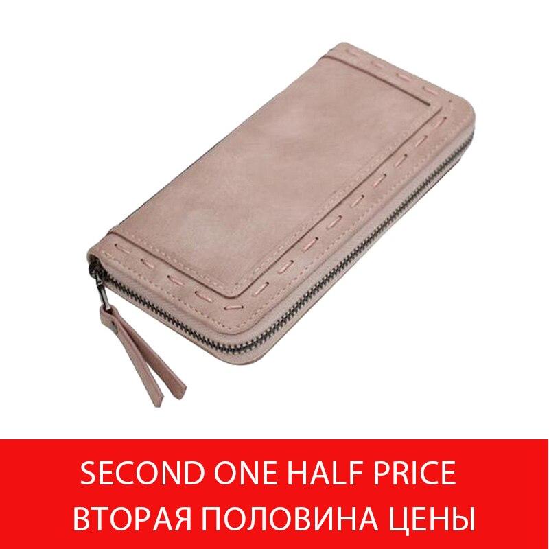 Móda značky kabelky ženy dlouhé vlákno peněženka ženské zip peněženka spojka velké kapacity peněženky taška