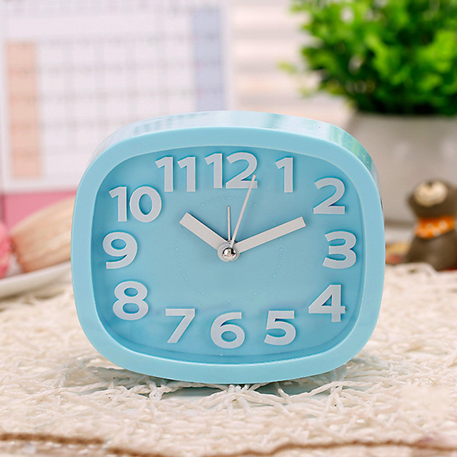 Aliexpress Com Home Decor Alarm Clocks Temperature Display Silver Desk Bedroom Kitchen Table Digital Large Wall Clock Support 4 Languages From