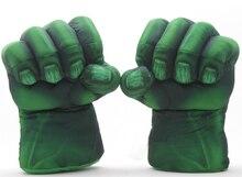 Plush The Incredible Hulk Gloves 11 Superhero font b Figure b font Hulk font b Toys