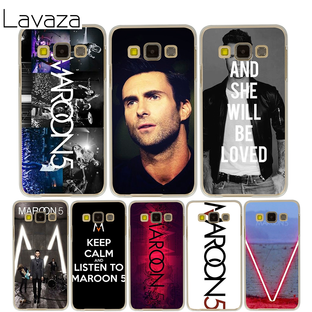 Lavaza maroon 5 Hard Case for Samsung Galaxy J5 J7 J3 2017 J1 2016 2015 J2 Prime Pro Ace 2018