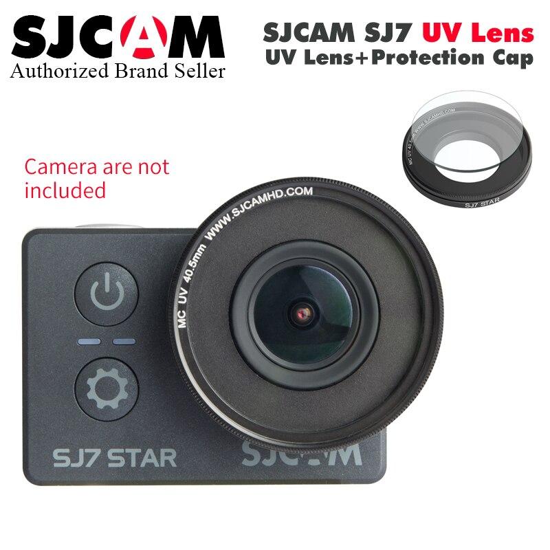 100% original SJCAM SJ7 Star MC UV Lens Filter Plus Protection Cover Perfect for SJCAM SJ7 Star 4K WIFI Sports Action Camera