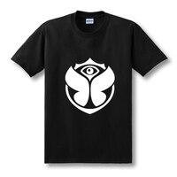 2016 New Hip Hop Short Sleeve O Neck Tshirts Electronic Music Tomorrowland T Shirts Man Classic