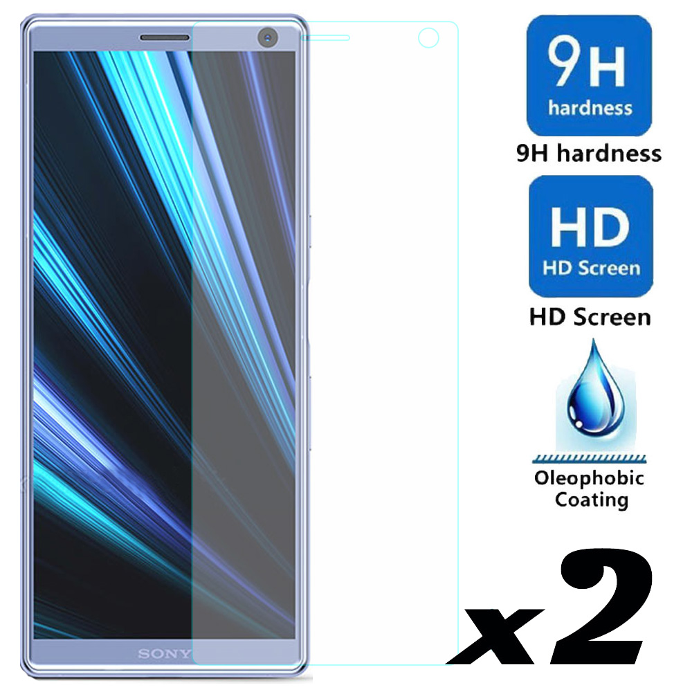 2pcs Tempered Glass Screen Protector For Sony Xperia 10 / Plus Explosion-proof Anti Scratch Films For Sony Xperia 10 10 Plus2pcs Tempered Glass Screen Protector For Sony Xperia 10 / Plus Explosion-proof Anti Scratch Films For Sony Xperia 10 10 Plus