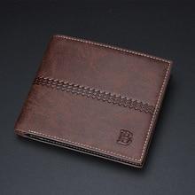 new original leisure short wallets wallet men's wallet in soft horizontal vertical tidal