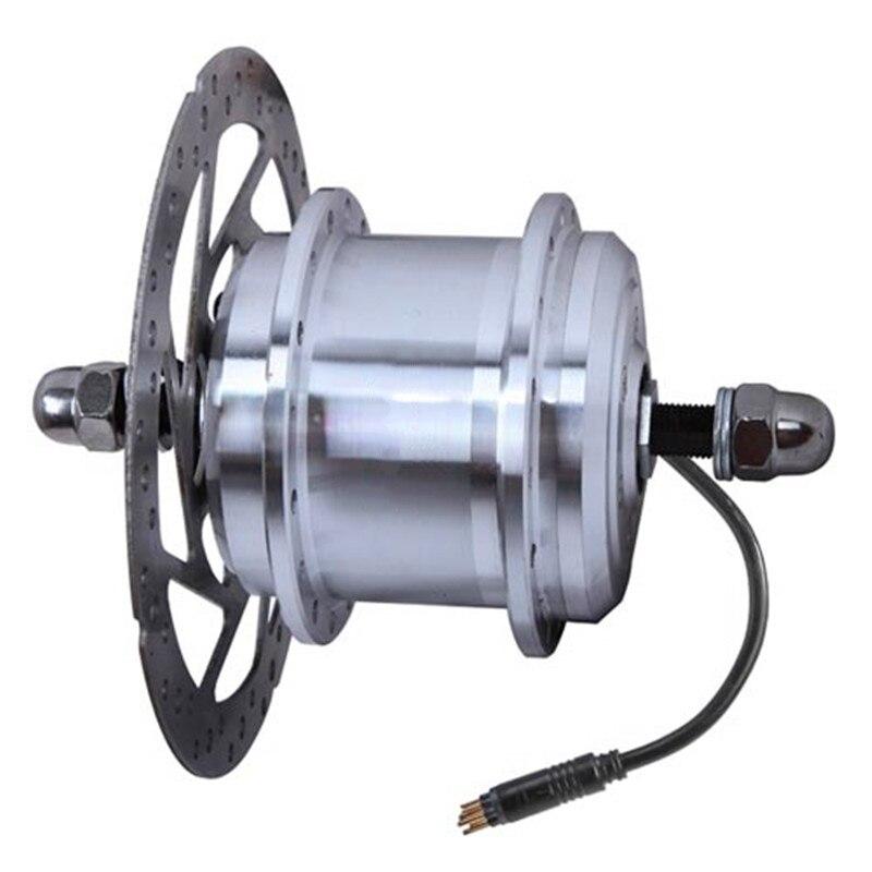 V3 100mm dropout 1.6Kg Ultra-light small Max 24V/33V/36V 500W V/Disc brake front  hub  motor for electric bike&electric bicycle