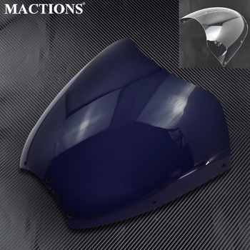 Motorcycle Accessories Windshield Fairing Cover ABS Plastic For Harley Street Bob FLD Dyna 2006-2016 2017 models