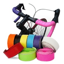 1 set Road Bike Handlebar Tape Belt Bicycle Cycling Handle Cork Waterproof Handlebar Tape Wrap Accessories Ultralight