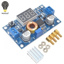 WAVGAT 5A 75W XL4015 DC-DC Converter Adjustable Step-Down Module 4.0-38V to 1.25V-36V DIY Adjustable Power Supply