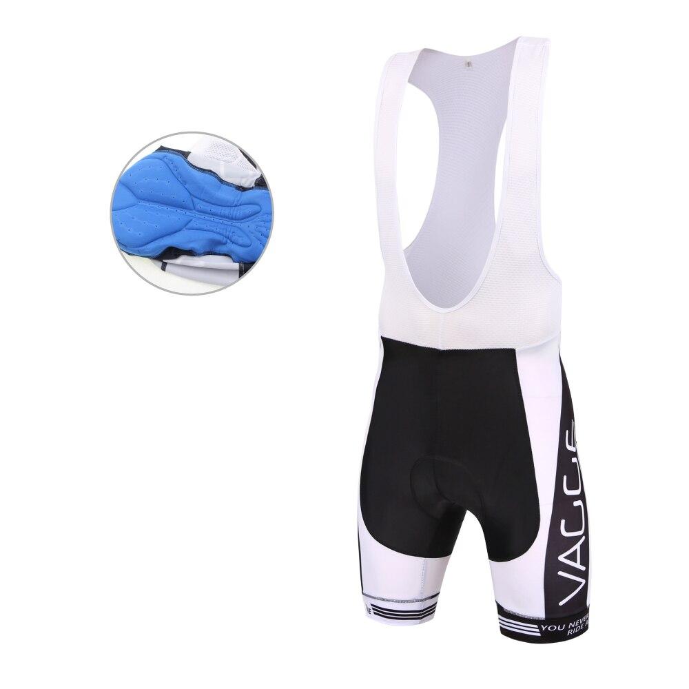 Λευκό ζελατίνα pad ποδήλατο bib πλεκτά / συμπίεση mens lycra μοτοσικλέτα bik σορτς / coolmax gel σιλικόνης λευκό σλιπ σορτ ποδηλάτου bib σορτς