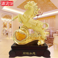 home decoration accessories The source of Honghua Ruyi future horse ornaments resin crafts gifts ornaments business gift sales