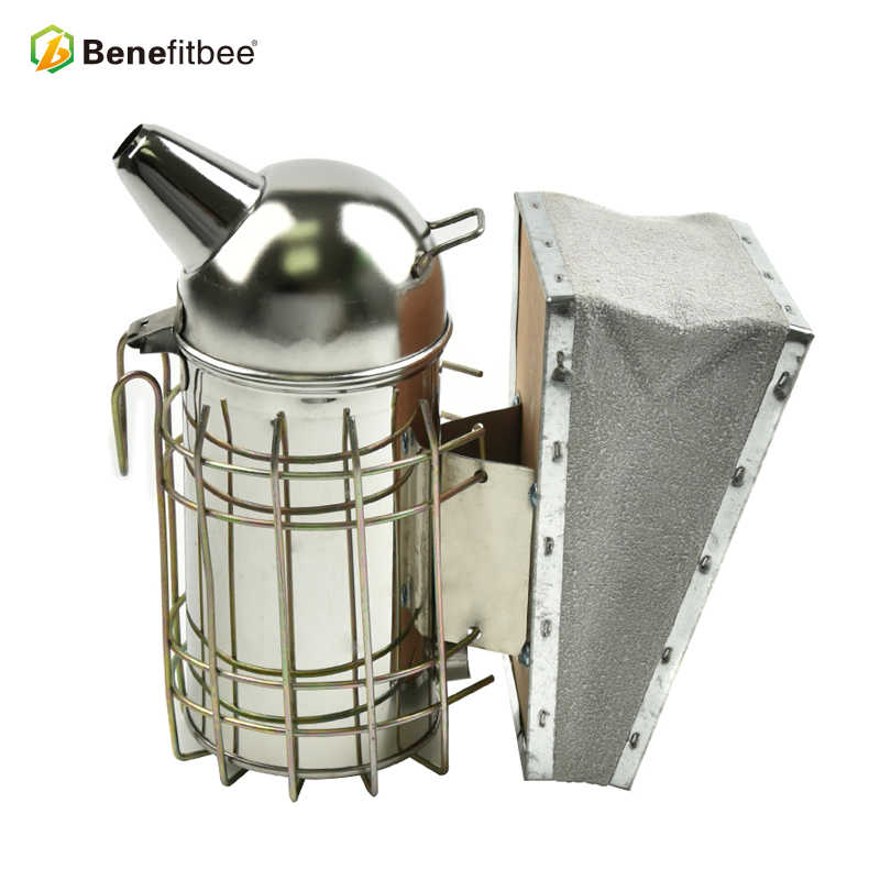 Benefitbee מעשן דבורה קטן כוורות מעשן Apicultur עבור כוורת מעשן גידול דבורים כלי ציוד כוורן נירוסטה