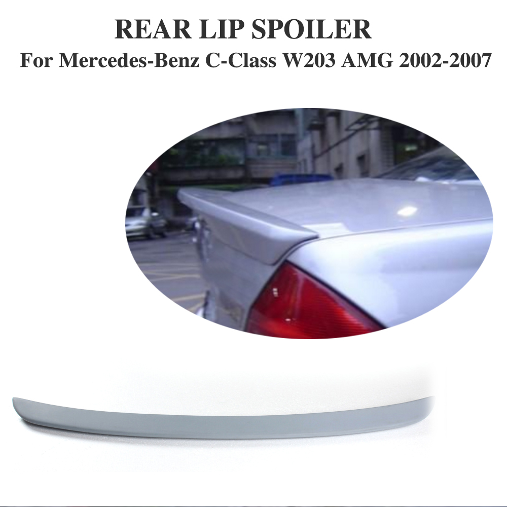 A Type Trunk Boot Lip Spoiler Wing Fit For Benz W203 C240 Sedan 01-07 Unpainted 2007 bmw x5 spoiler