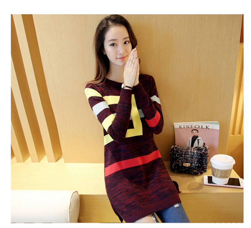 18 DRL sweater women Basic woman sweater pullovers long sleeve Jumper Long Sleeve Sweaters Autumn Winter pull femme hiver 21