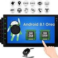 Стерео Системы Double Din 2 ГБ Оперативная память с gps навигации Поддержка Fastboot Wi Fi 1080 P видео аудио автомобиля радио приемник в тире автомобиля
